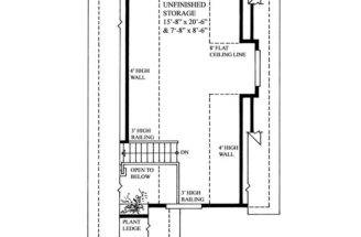 Garage Loft Plans Two Car Plan Workshop