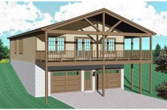 Garage Plans Apartments Car Apartment Above