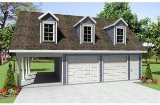 Garage Plans Carport Car Plan