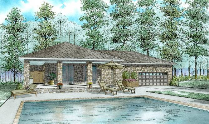 Garage Pool House Collection Best Plans Home Floor