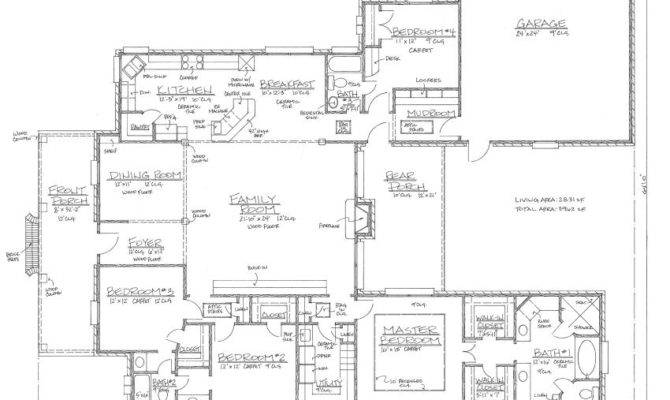 Gardere Louisiana House Plans Acadian
