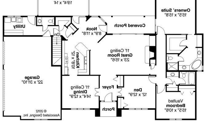 Georgian House Floor Plans