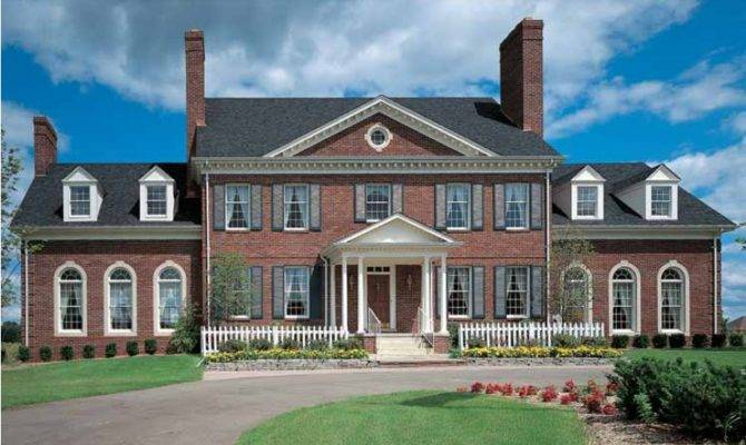 Georgian House Plan Square Feet Bedrooms Dream
