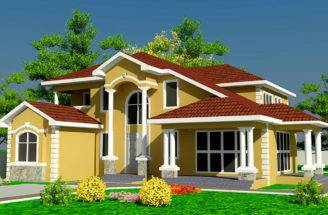 Ghana House Plans Naanorley Plan
