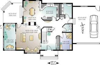 Glass Bird Home Floor Plan Favourite
