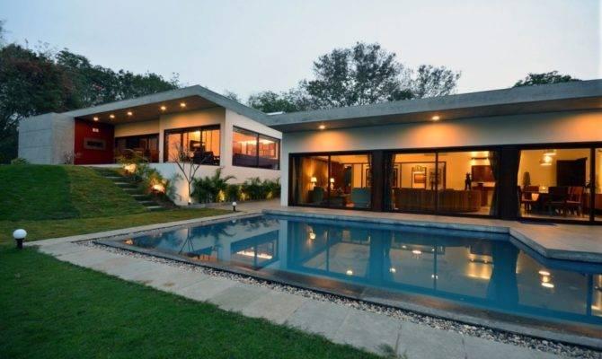 Gorgeous Single Floor House Concrete Finishes Modo Designs