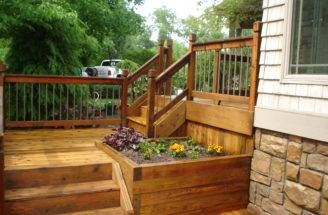Goshen Deck Staining Project