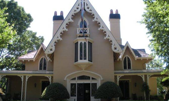 Gothic Revival Home Pinterest