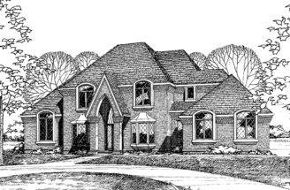 Gothic Revival Style House Plans Pin Pinterest