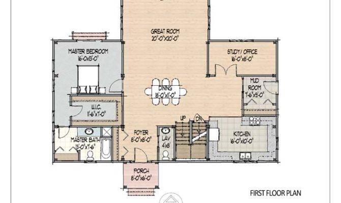 Great Room Below Floor Plan Offers Plenty Space Growing