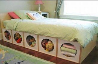 Great Storage Idea Small Bedroom Kids Rooms Pinterest