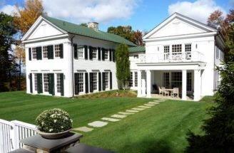 Greek Revival House Millbrook Landscaping Pinterest