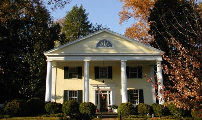 Greek Revival Houses Architecture Facts History Guide