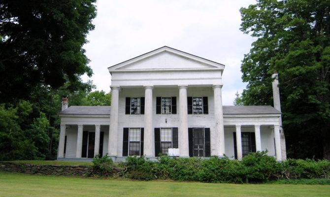 Greek Revival Perfection Awesome Houses Pinterest