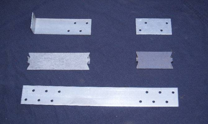 Guage Safety Plate Self Nailing