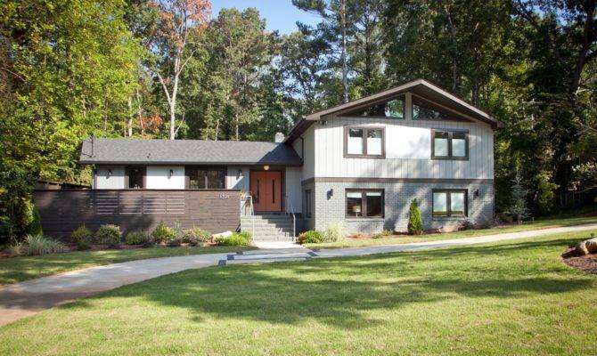 Hall Road Atlanta Mid Century Modern Renovation Cablik Enterprises