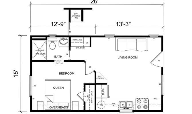 Happenings Tiny House Floor Plans