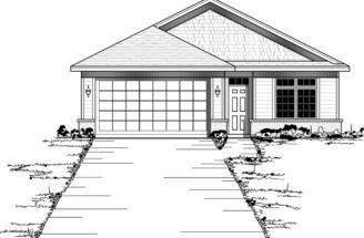 Hazelridge Narrow Lot Home Plan House Plans More