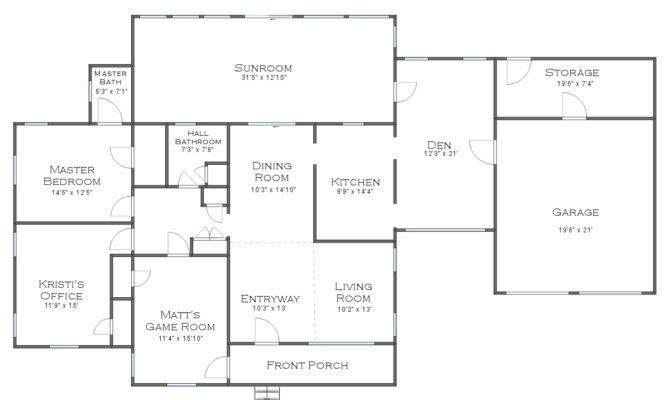 Here Quick Two Floor Plans Just Move Your Mouse