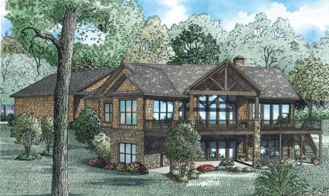 Hillside House Plans Walkout Basement Quotes