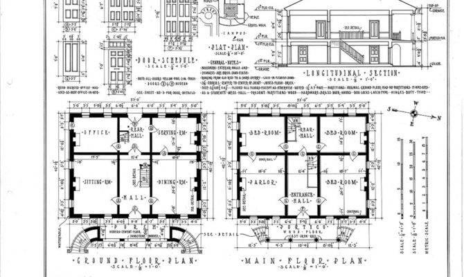 Historic Plantation House Plans Gorgas Tuscaloosa
