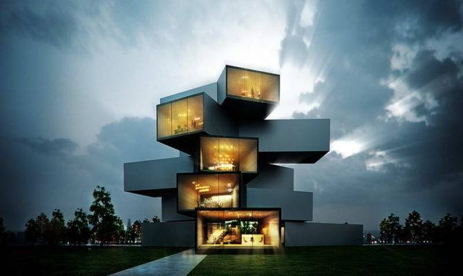 Home Architecture Unique Styles Houses Modern Life