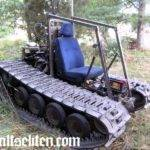 Home Built Tracked Vehicle Can Take Anti Histamine Tramadol