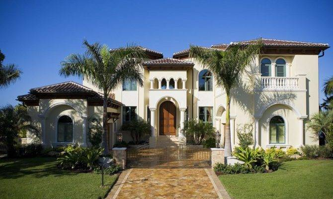 Home Decoration Designs Mediterranean Style Homes