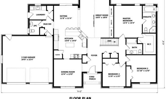 Home Designs Custom House Plans Garage