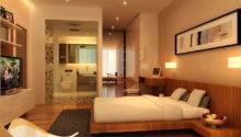 Home Interior Design Ideas Fancy Wooden Double Bed Parquet Floor