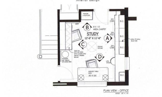 Home Office Floor Plans Interior Architect