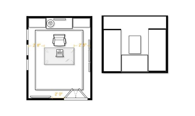 Home Office Floorplan