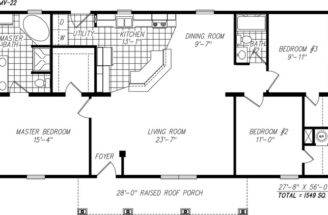 Home One Our Most Popular Modular Floor Plans North Carolina