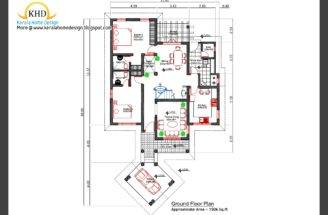 Home Plan Elevation Kerala Design Floor