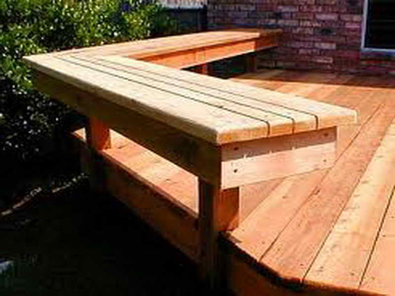 Home Planning Ideas Deck Bench Plans Classic