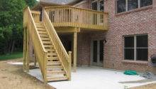Home Plans Deck Designs
