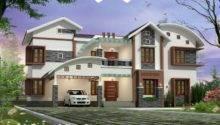 Home Plans Modern Luxury Kerala Design Bhk