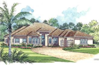 Home Plans One Story Plan