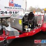 Hot Cold Water Trailer Mounted Jetter Dual Engine Tandem Axle