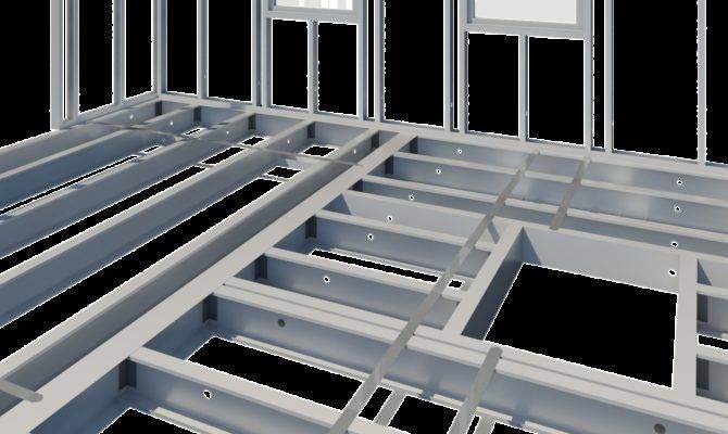 Hot New Release Framing Product Package Metal Floor
