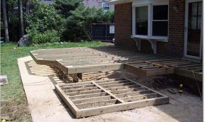 Hot Tub Deck Plans Support Good Detail
