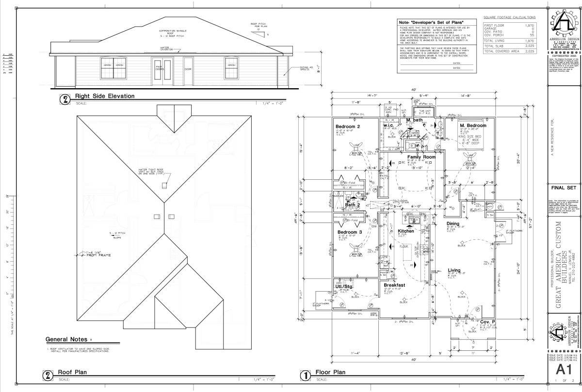 Samples Of BlueprintsOfHome Plans Ideas Picture