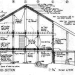 House Cross Section Drawing Paulandellen Loghome