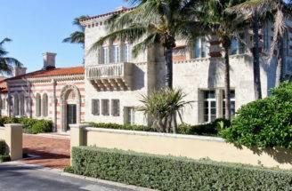 House Day Italian Style Mansion Palm Beach