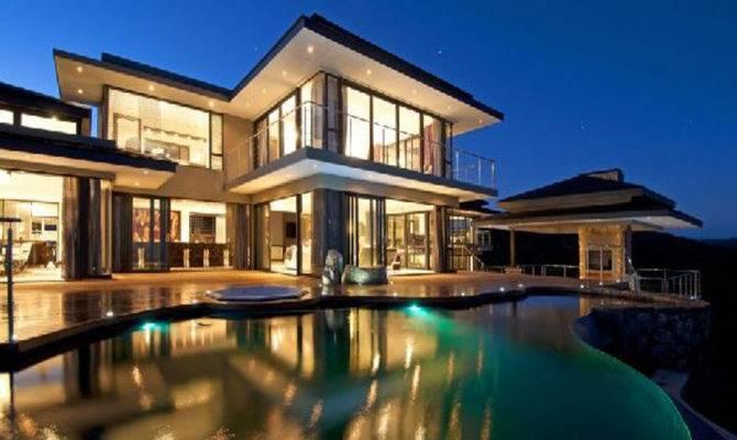 House Elegant Design Beautiful Interior Exterior