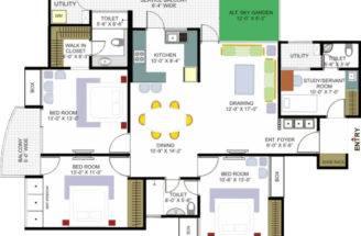 House Floor Plan Designs Plans