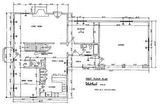 House Floor Plan New Home Building