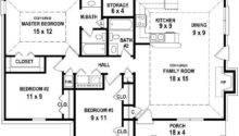 House Floor Plans Bedroom Bath First