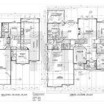 House Foundation Plan First Second Floor