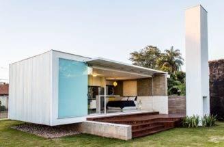 House Modern Bachelor Pad Brazil Alex Nogueira Small